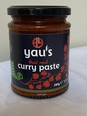 Yau's Thai Red Curry Paste