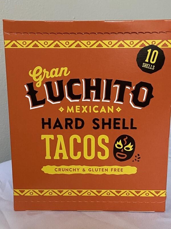 Mexican Hard Shell Taco's