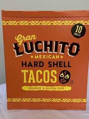 Mexican Hard Shell Taco's