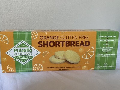 Orange Shortbread