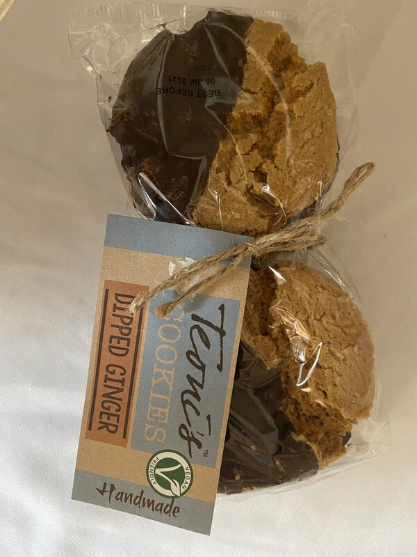 Teoni's Cookies Dipped Ginger