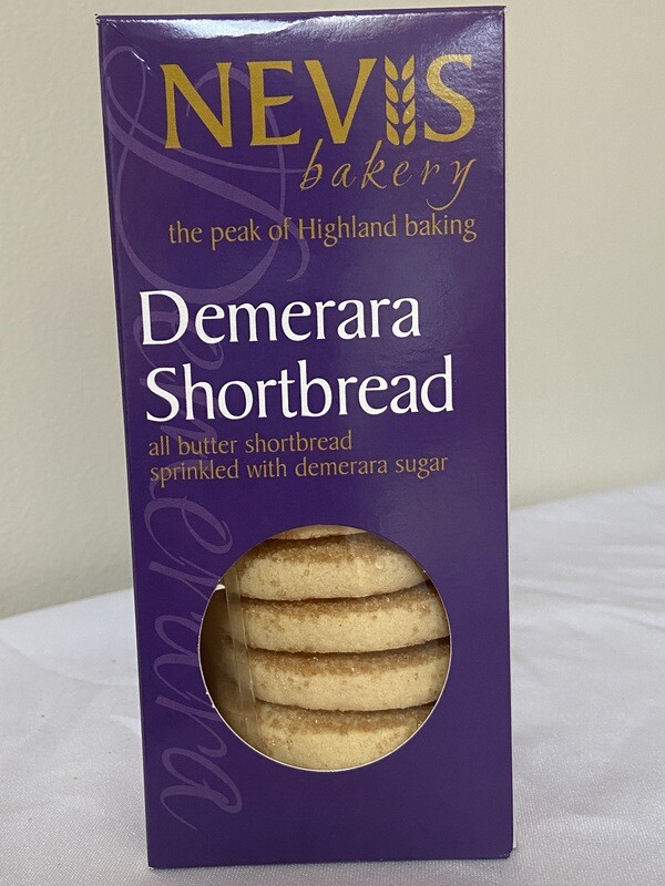 Nevis Bakery Demerara Shortbread