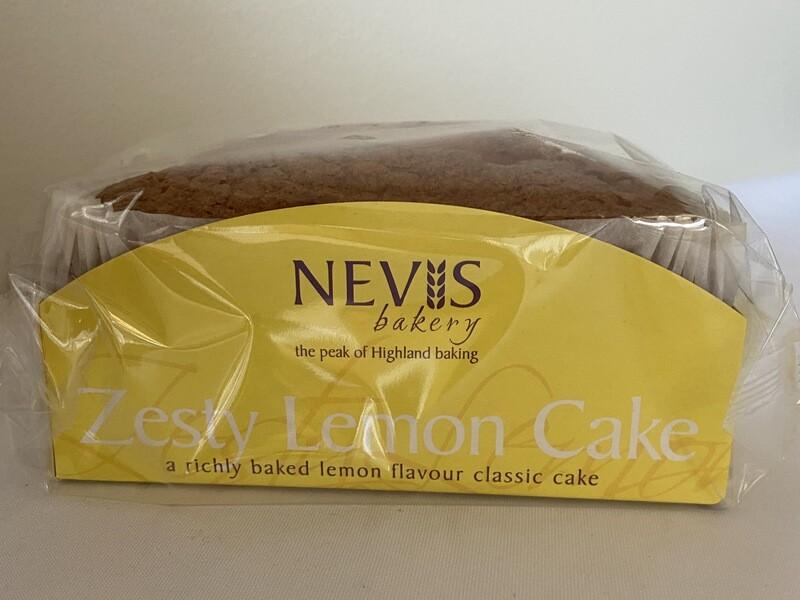 Nevis Zesty Lemon Cake