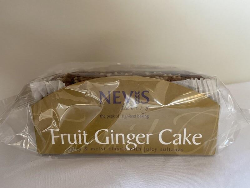Fruit Ginger Cake