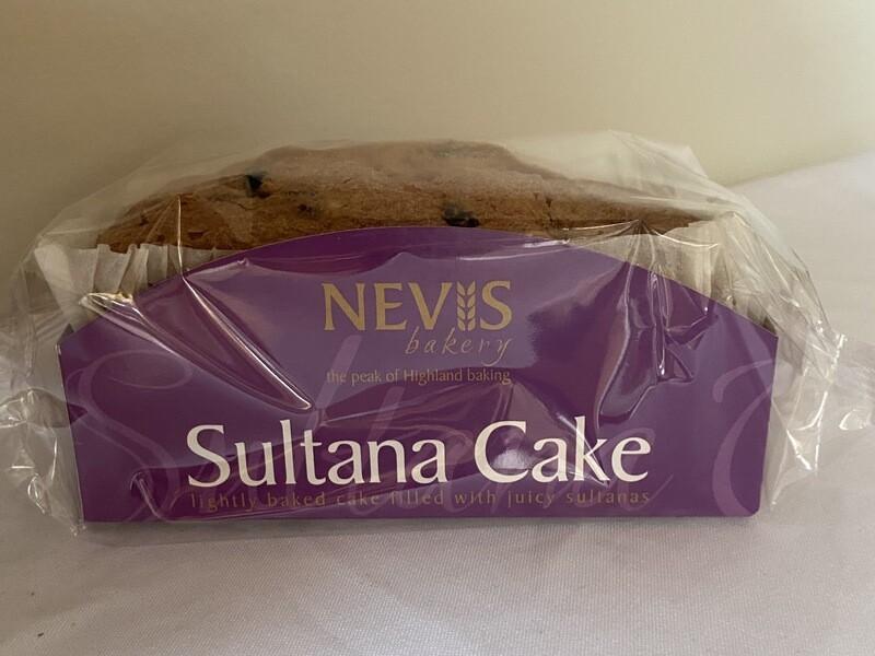 Nevis Sultana Cake