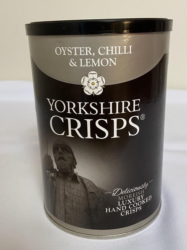 Yorkshire Oyster, Chilli & Lemon Crisps