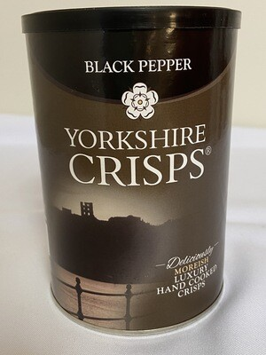 Yorkshire Black Pepper Crisps