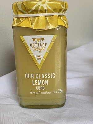 Cottage Delight Classic Lemon Curd