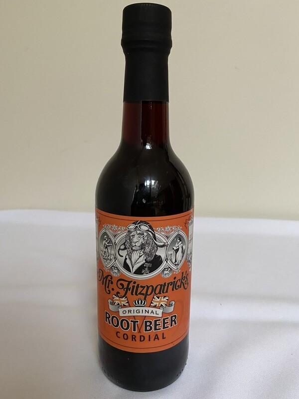 Mr Fitzpatrick's Root Beer Cordial