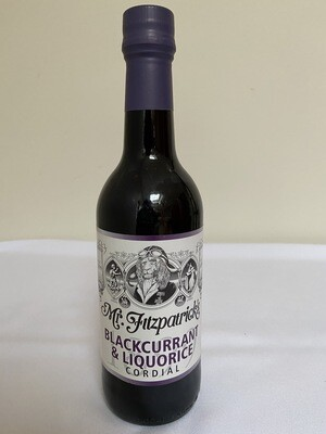 Mr Fitzpatrick's Blackcurrant & Liquorice Cordial