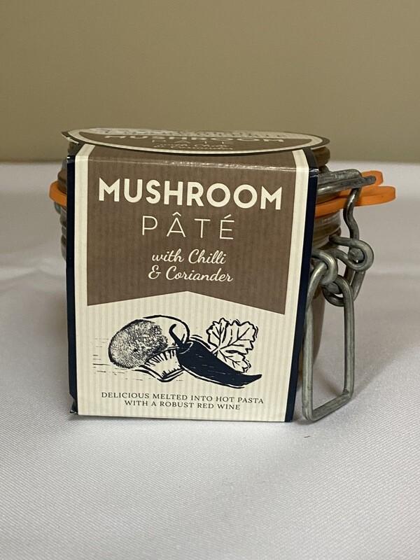Cornish Charcuterie Mushroom Pate' with Chilli & Coriander