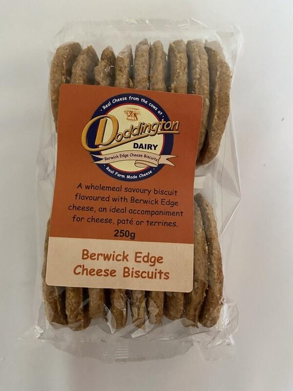 Doddington Dairy Berwick Edge Cheese Biscuits