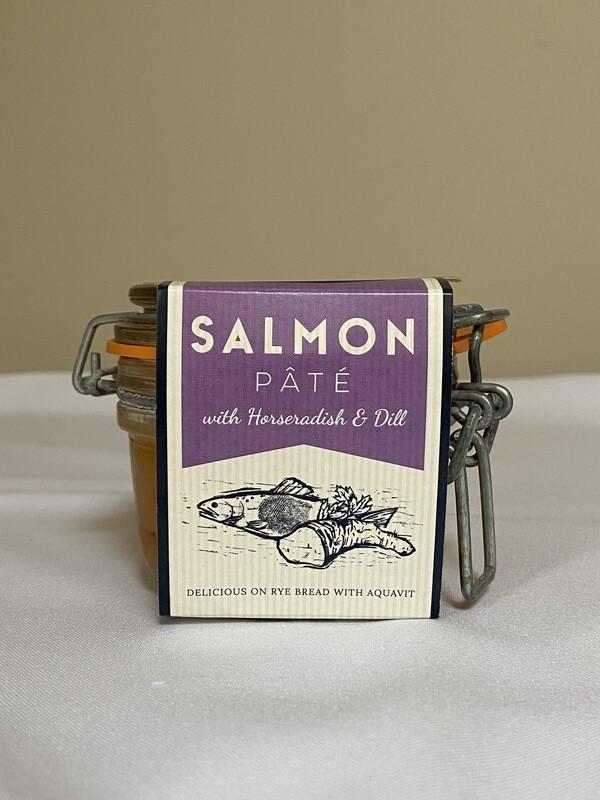 Cornish Charcuterie Salmon Pate` with Horseradish & Dill