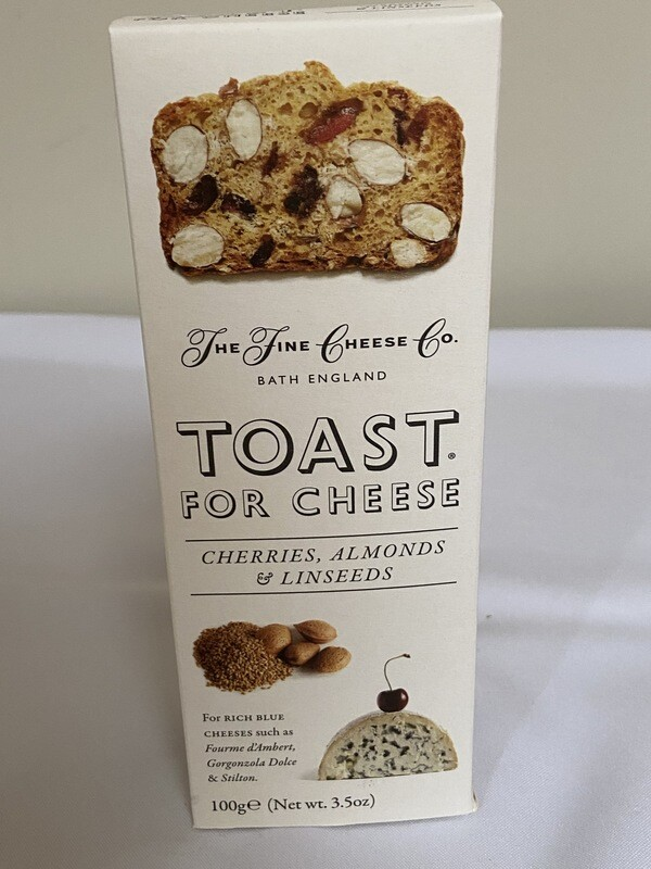 Toast for Cheese  Cherries, Almonds & Linseeds