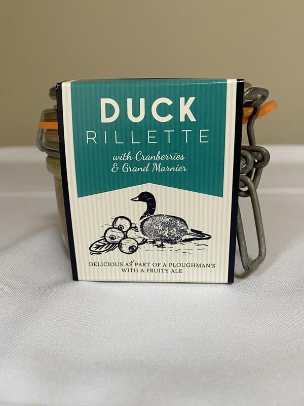 Cornish Charcuterie Duck Rillette with Cranberries & Grand Marnier