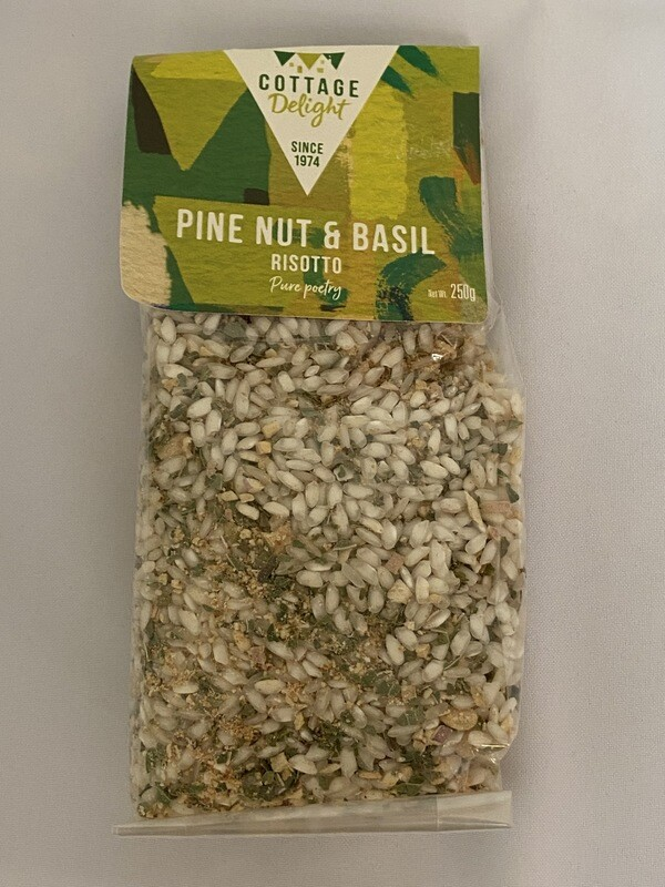 Cottage Delight Pine Nut & Basil Risotto