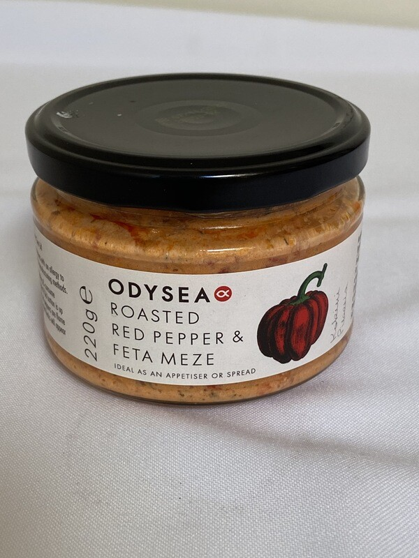 Roasted Red Pepper & Feta Meze