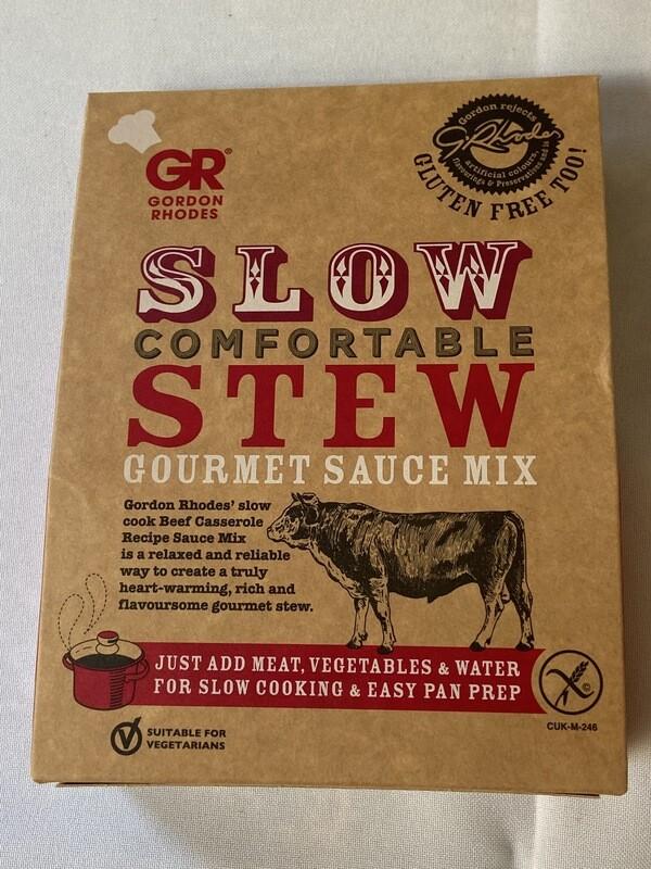 Gordon Rhodes Slow Stew Gourmet Sauce Mix
