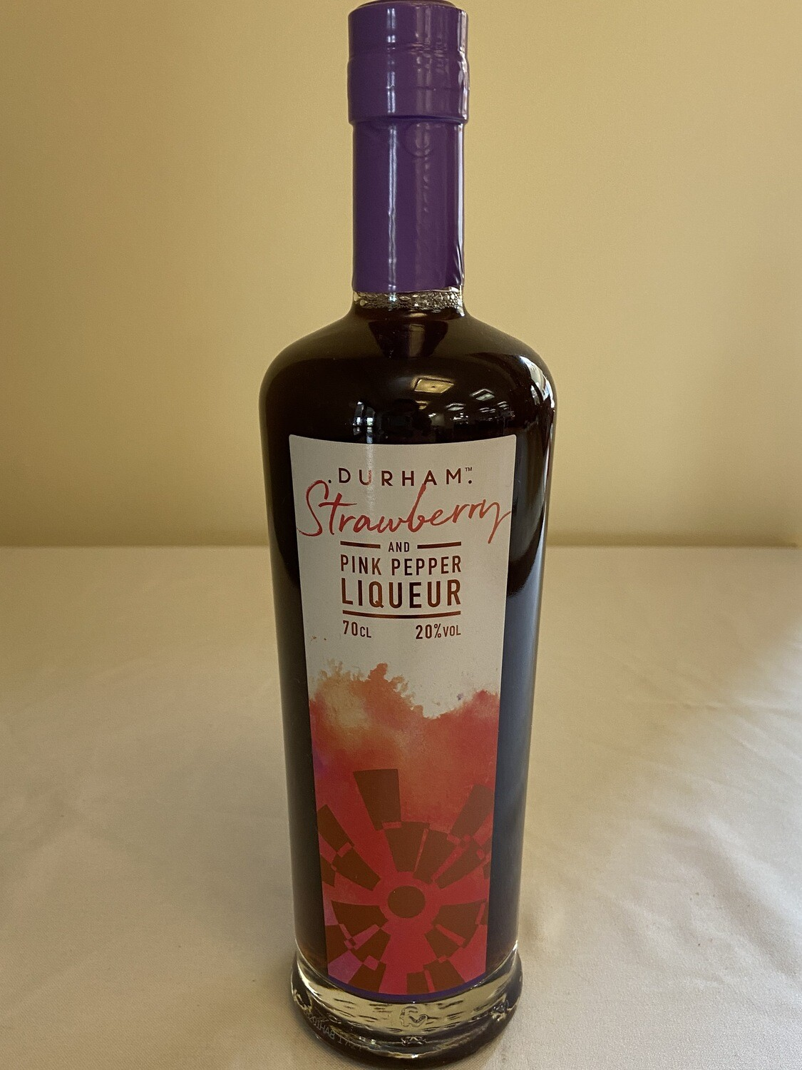 Durham Strawberry and Pink Pepper Liqueur