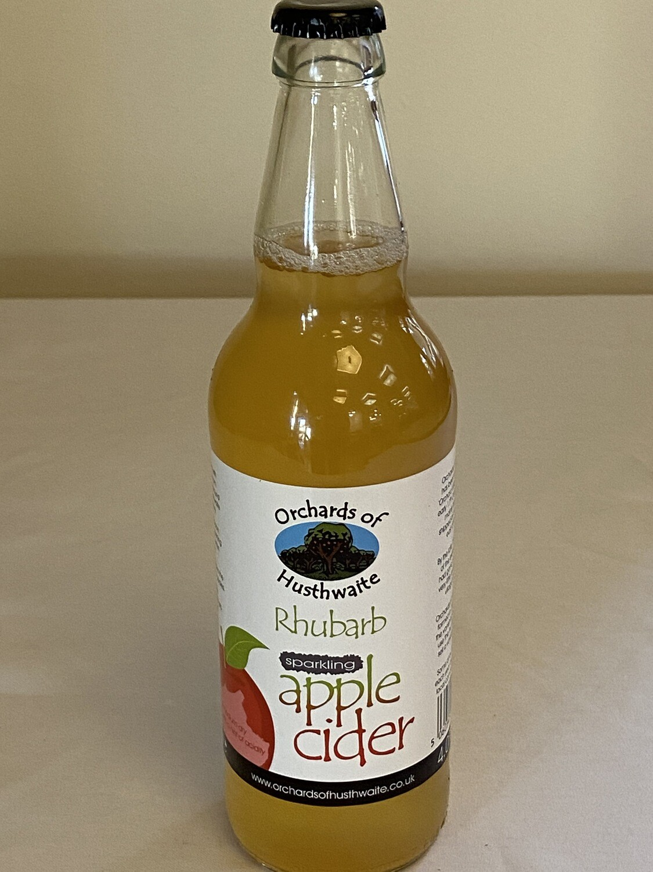 Orchards of Husthwaite Rhubarb Apple Cider