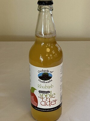 Orchards of Husthwaite Rhubarb Apple Cider