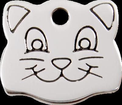 Edelstahl: Katze