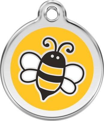 Tiermarke: Biene, verschiedene Farben