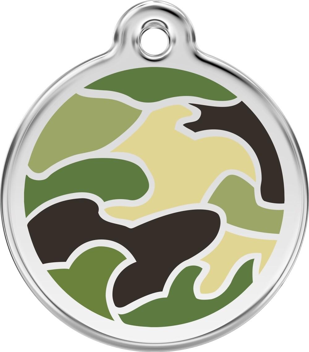 Tiermarke: Camouflage, verschiedene Farben
