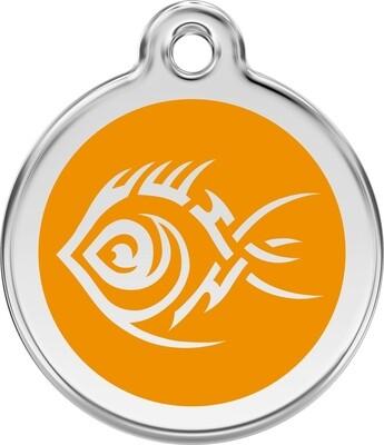 Tiermarke: Tribal-Fisch, verschiedene Farben