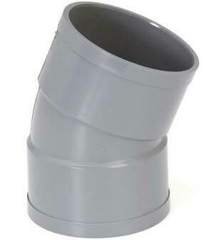 COUDE FXF A 22°30 Ø40 MM