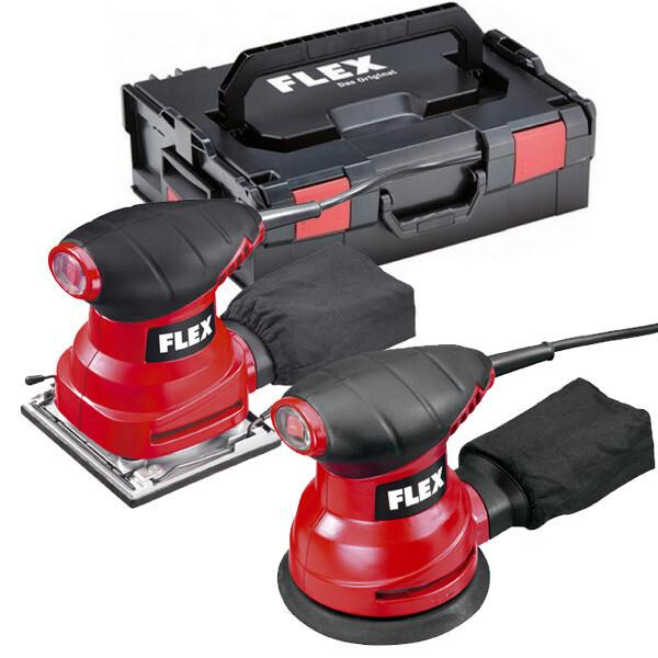 FLEX LOT 2 PONCEUSES XS 713 + MS 713 EN COFFRET L-BOXX