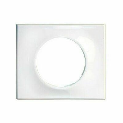 plaque classic white 1 poste