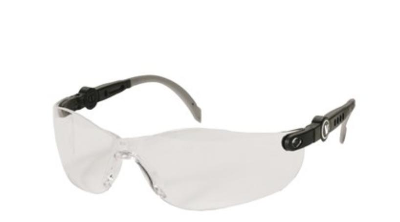 VELTUFF'Java elite' safety specs-clear lens VC20