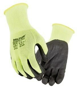 Veltuff power grip foamed latex glove VC20