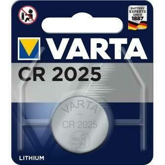 piles BOUTON VARTA CR2025
