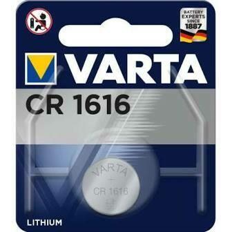piles BOUTON VARTA CR1616