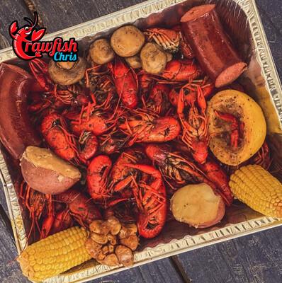 5 lb Crawfish Dinner Box