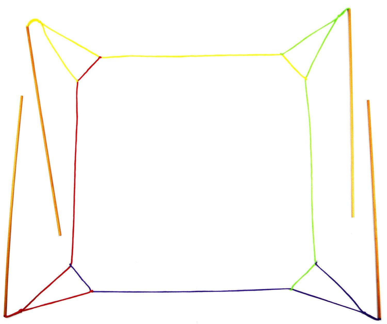 J2) Riesenseifenblasen-Himmel deluxe, ab 10 Jahre. 120cm x 120cm!
