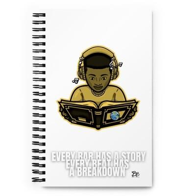 Boy Joy Spiral notebook in Banana Yellow