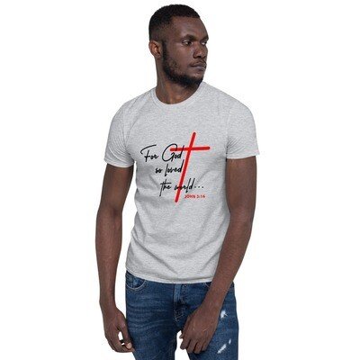 John 3:16 Short-Sleeve Unisex T-Shirt