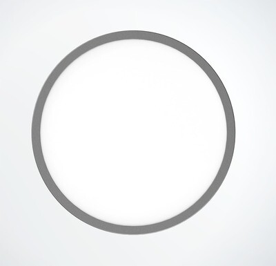 ProLuce® LED Panel TONDO 3018, Ø310 mm, 18W, 1980 lm, 4000K, CRI >90, 100°, schwarz