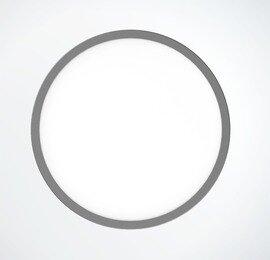 ProLuce® LED Panel TONDO 6048, Ø608 mm, 48W, 5280 lm, 2700K, CRI >90, 100°, silber