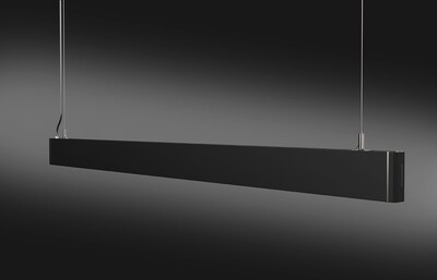ProLuce® Linienleuchte PENDOLO 36W, direkt, DALI, 1200x30x72mm, 4000K, 2880 lm, schwarz