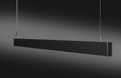 ProLuce® Linienleuchte PENDOLO 36W, direkt, 1200x30x72mm, 3000K, 2880 lm, schwarz