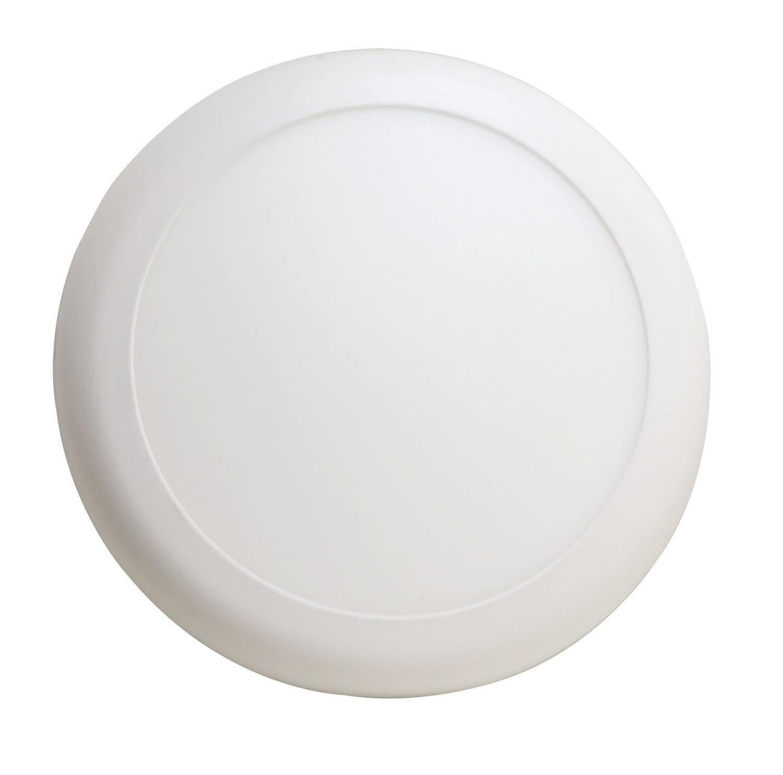 ProLuce® Auf-/Einbauleuchte CARDELLINO/R 2in1 12W, Ø180x15, 3000K, 900-1000 lm, weiss