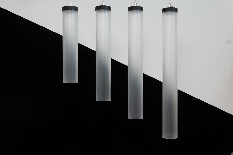 ProLuce® Hängeleuchte IL TUBO Ø80x500 mm, ohne, Treiber, 8W, CRi >90, 300°, 640lm, RGBW WIFI