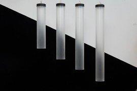 ProLuce® Hängeleuchte IL TUBO Ø80x600 mm, ohne, Treiber, 8W, CRi >90, 300°, 640lm, RGBW WIFI