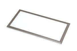 ProLuce® LED Panel PIAZZA SP 145x1195x10 mm 36W, 3000K, 3240 lm, 110°, IP20, silber, DALI