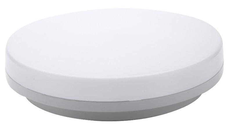 ProLuce® Deckenleuchte GIPETO 25W, Ø330x48mm, IP54, Tri-C., 2750 Lm, 120°, weiss, CRI 85