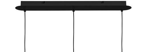 ProLuce® Hängeleuchte IL TUBO, 3er-Deckenkit, gerade, schwarz